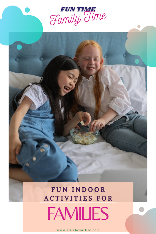Photo by Gabby K from Pexels indoor activities for families