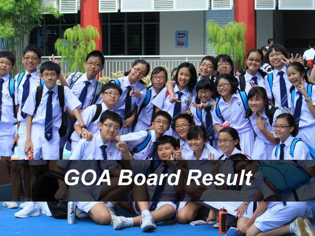 Goa Board Result 2018 GBSHSE Board Result Declared Check Online