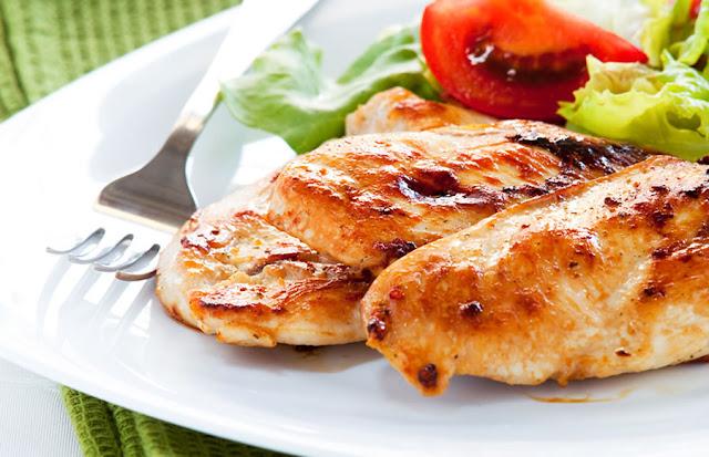 Γλυκόξυνο Κοτόπουλο σε μαρινάδα