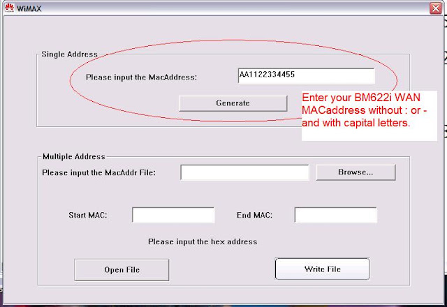 Trick on changing mac bm622i youtube.