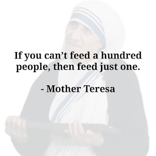 mother Teresa quotes on love family with images