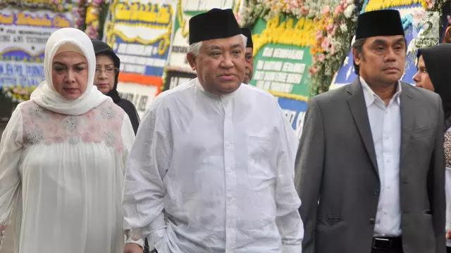Din Syamsuddin Ajak Masyarakat Salat Gaib untuk BJ Habibie