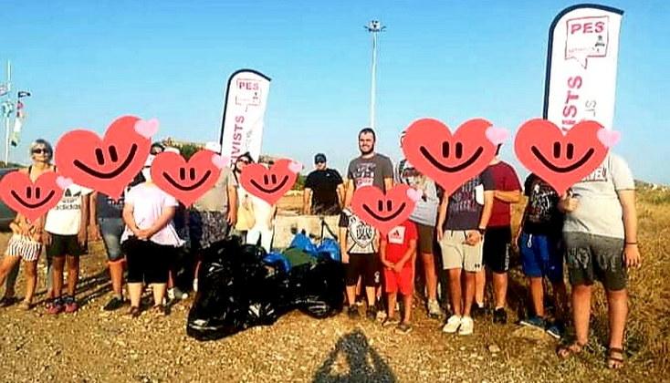 Μικροί και μεγάλοι εθελοντές καθάρισαν την ακτή - βιτρίνα της Αλεξανδρούπολης