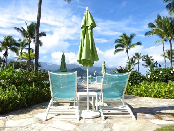 Poolside St Regis Princeville Kauai