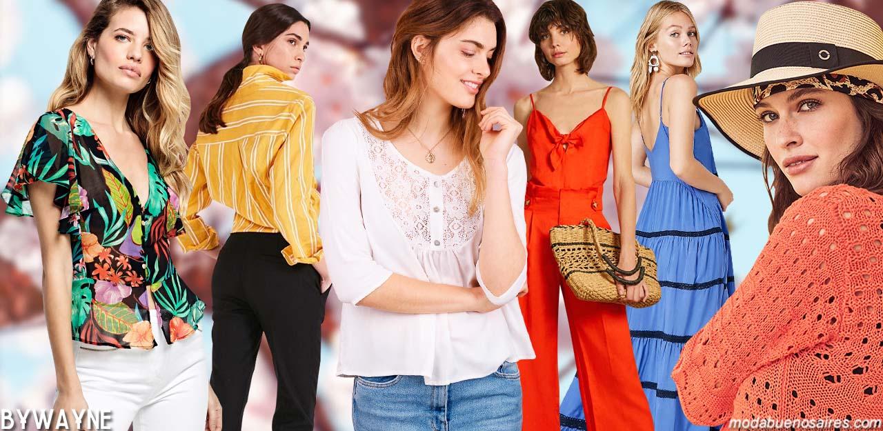 Moda primavera verano 2020 Argentina. │Moda 2020: ropa de mujer moda primavera verano 2020.