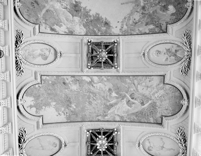 City of Detroit III Grand Salon Ceiling