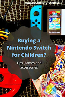 Buying a Nintendo Switch for children tips, games and accessories