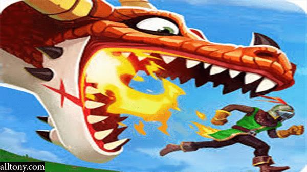 تحميل لعبة Hungry Dragon للاندرويد أحدث إصدار