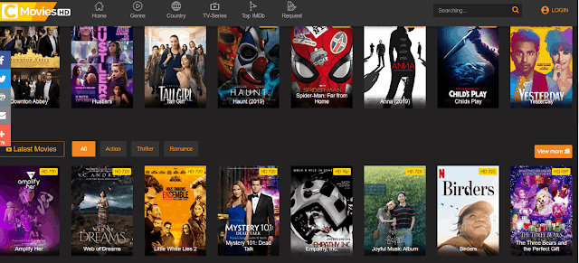 Cmovies Hollywood Dubbed in Hindi, Bollywood Movies Download & New Domain Link