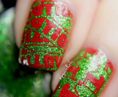 Powder Perfect Christmas Stamping