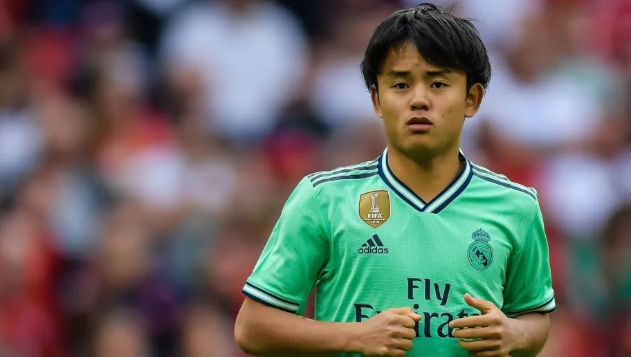 Takefusa Kubo replaces Martin Odegaard next season?