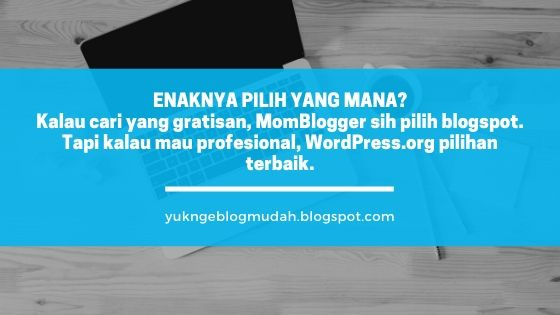 saran pemilihan platform blog