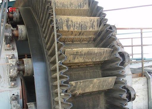 Corrugated Belt Conveyors