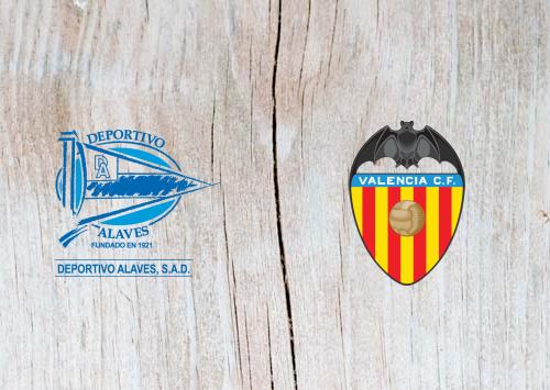 Alaves vs Valencia - Highlights 5 January 2019