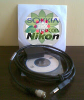 Jual Kabel Data Total Station ,Sokkia Topcon Nikon di Tangerang