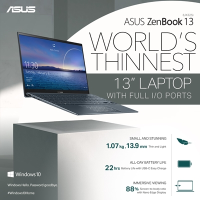 ASUS World's Lighter Laptop
