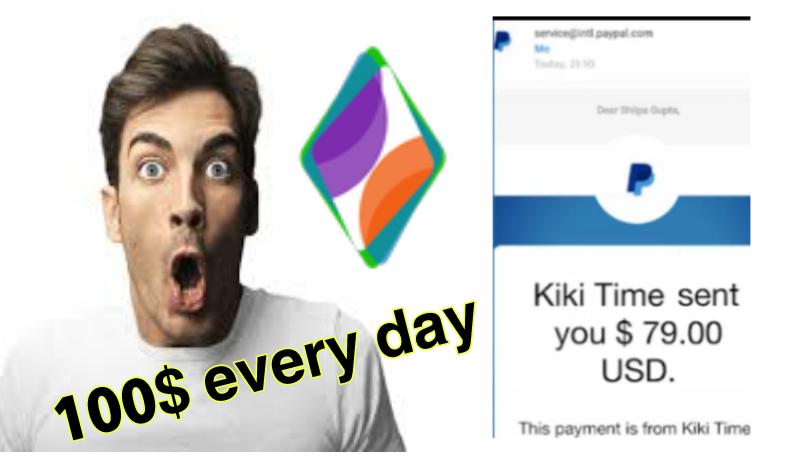 طريقة الربح من التدوين عن طريق تطبيق kikiTime مع إتباث السحب