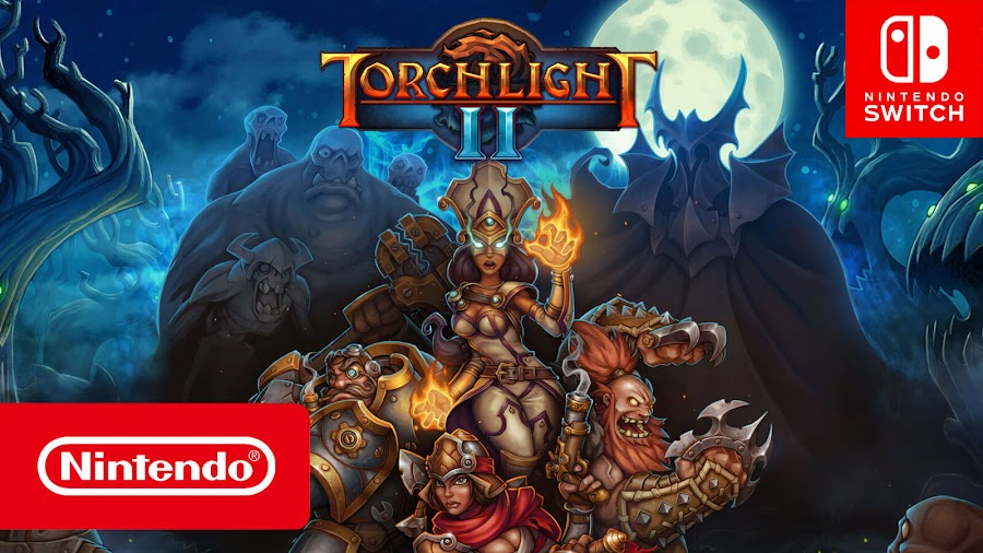 torchlight 2 nintendo switch action role-playing dungeon crawler runic games