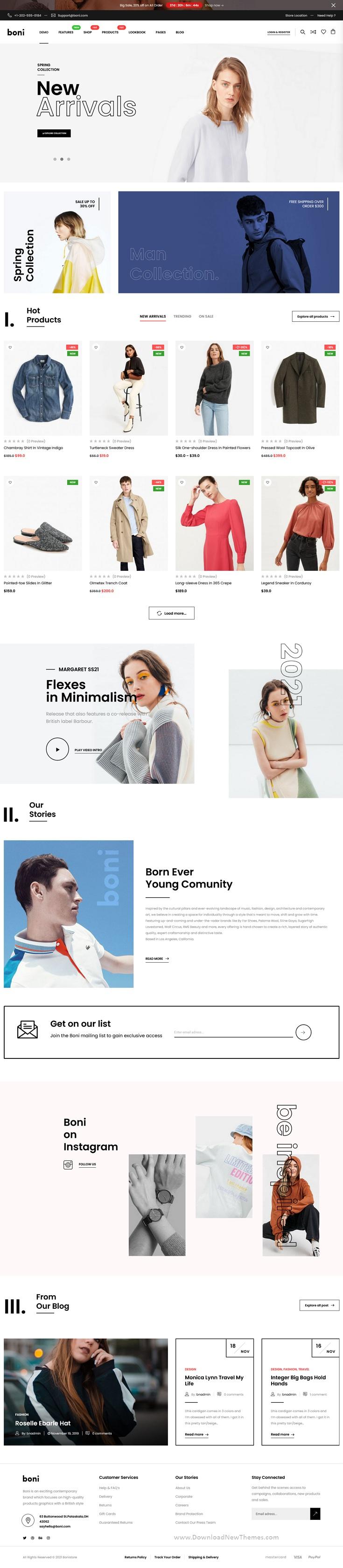 Modern and Multipurpose WooCommerce Theme