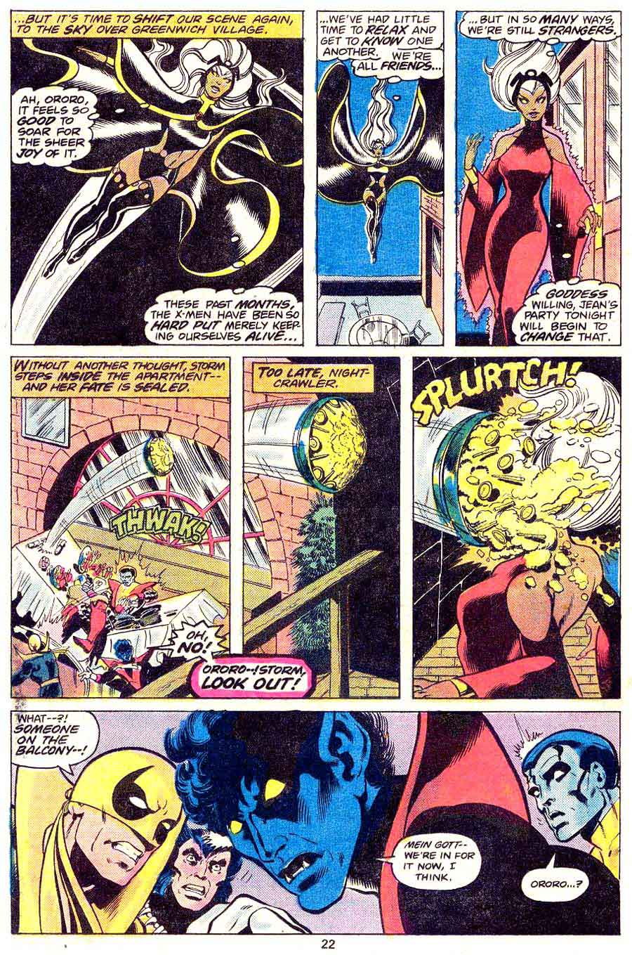 Iron Fist v1 #15 x-men bronze age marvel comic book page art by John Byrne