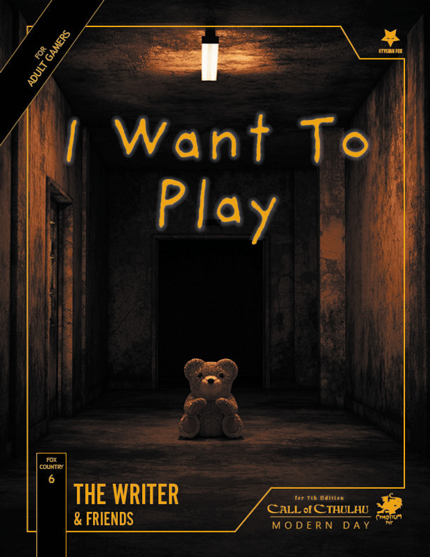 [ZEW CTHULHU] I WANT TO PLAY - RECENZJA