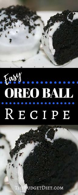 How To Make Oreo Balls Cookie Recipe | No Bake