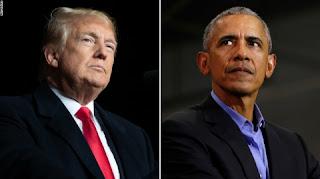 Trump wants to advance Obama's baseless crime plot