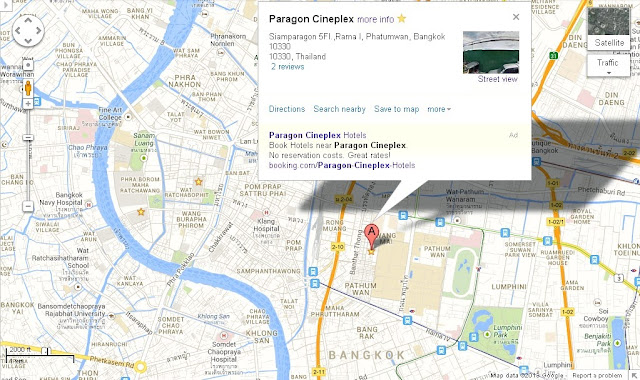 Paragon Cineplex Bangkok Location Map,Location Map of Paragon Cineplex Bangkok,Siam Paragon Cineplex Bangkok Accommodation Destinations Attractions Hotels Map