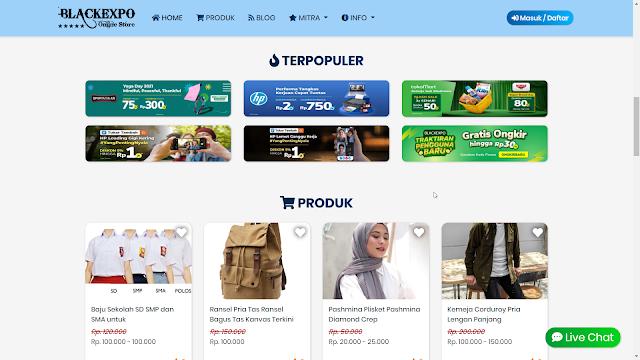 Aplikasi Web Toko Online Professional 9