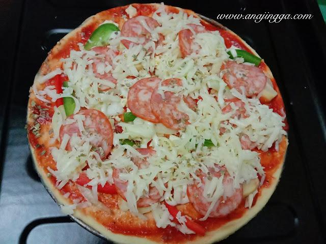 resepi pizza