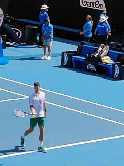 Novak Djokovic Melaju ke Semifinal Australia Terbuka Usai Tekuk Raonic