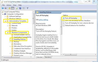 Cara Menghindari Virus Bawaan Flashdisk Pada Windows 7