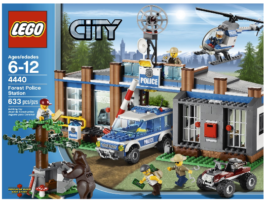 Lego City Police Party Food Labels