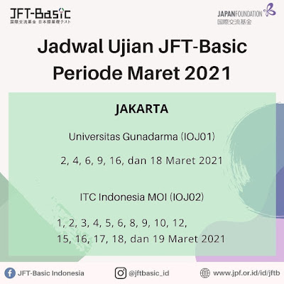 JFT Basic Jakarta