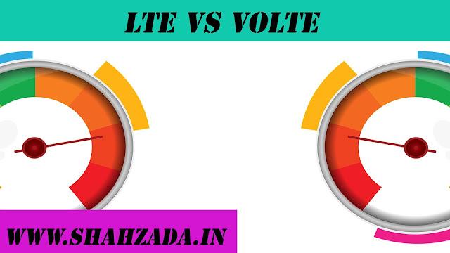 LTE VS VoLTE