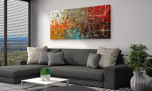 Drawing room wall decoration