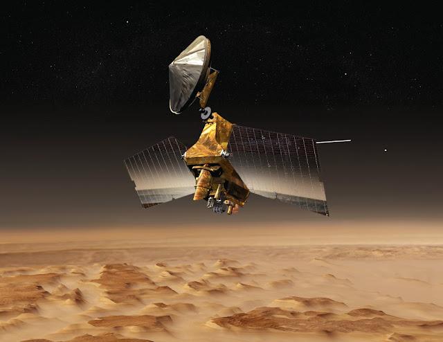 المسبار الأمريكي Mars Odyssey