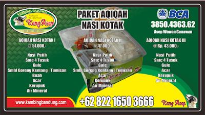Nasi Kotak di Lembang | Paket Aqiqah