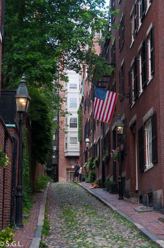Acorn Street. 10 cosas que ver en Boston