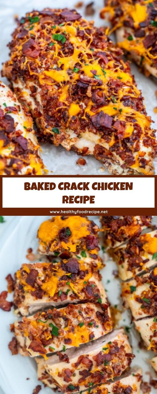 BAKED CRACK CHICKEN RECIPE