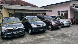 Polsek Semboro Amankan Tersangka Beserta 14 Mobil Hasil Penggelapan