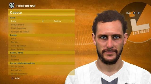 PES 2016 Luan Niedzielski New Face