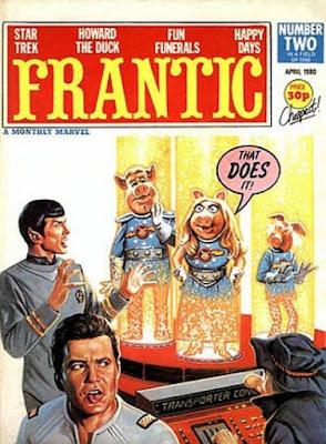 Marvel UK, Frantic #2, Miss Piggy and Star Trek