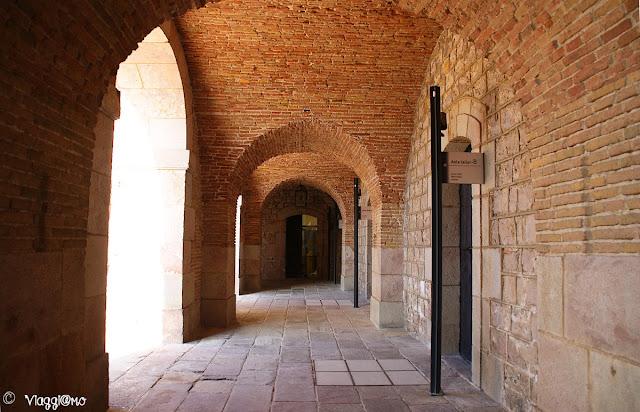 Interno del Forte del Montjuic a Barcellona