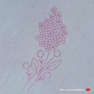 Most attractive hand drawing design for new hand embroidery