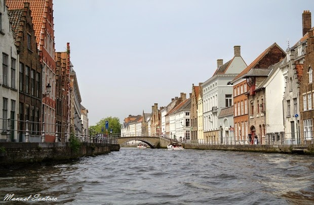 Bruges, visita in battello