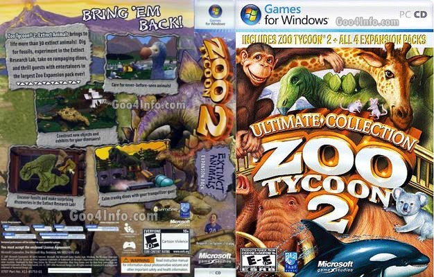 Zoo Tycoon 2 Ultimate Collection Free Download For PC ~ Goo4Info