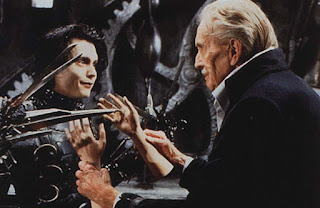 Dunia Sinema Edward Scissorhands The Inventor dan Edward