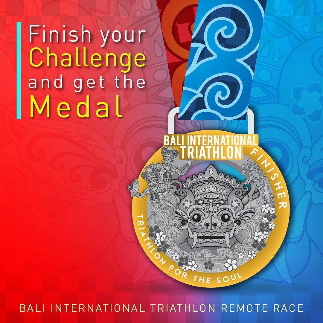 Bali International Triathlon Remote Race • 2020