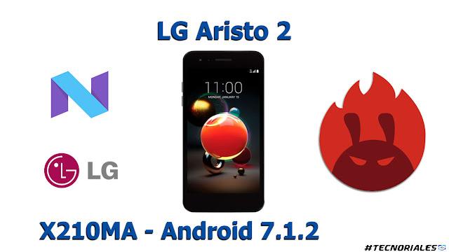 lg aristo 2 antutu benchmark android 7 nougat